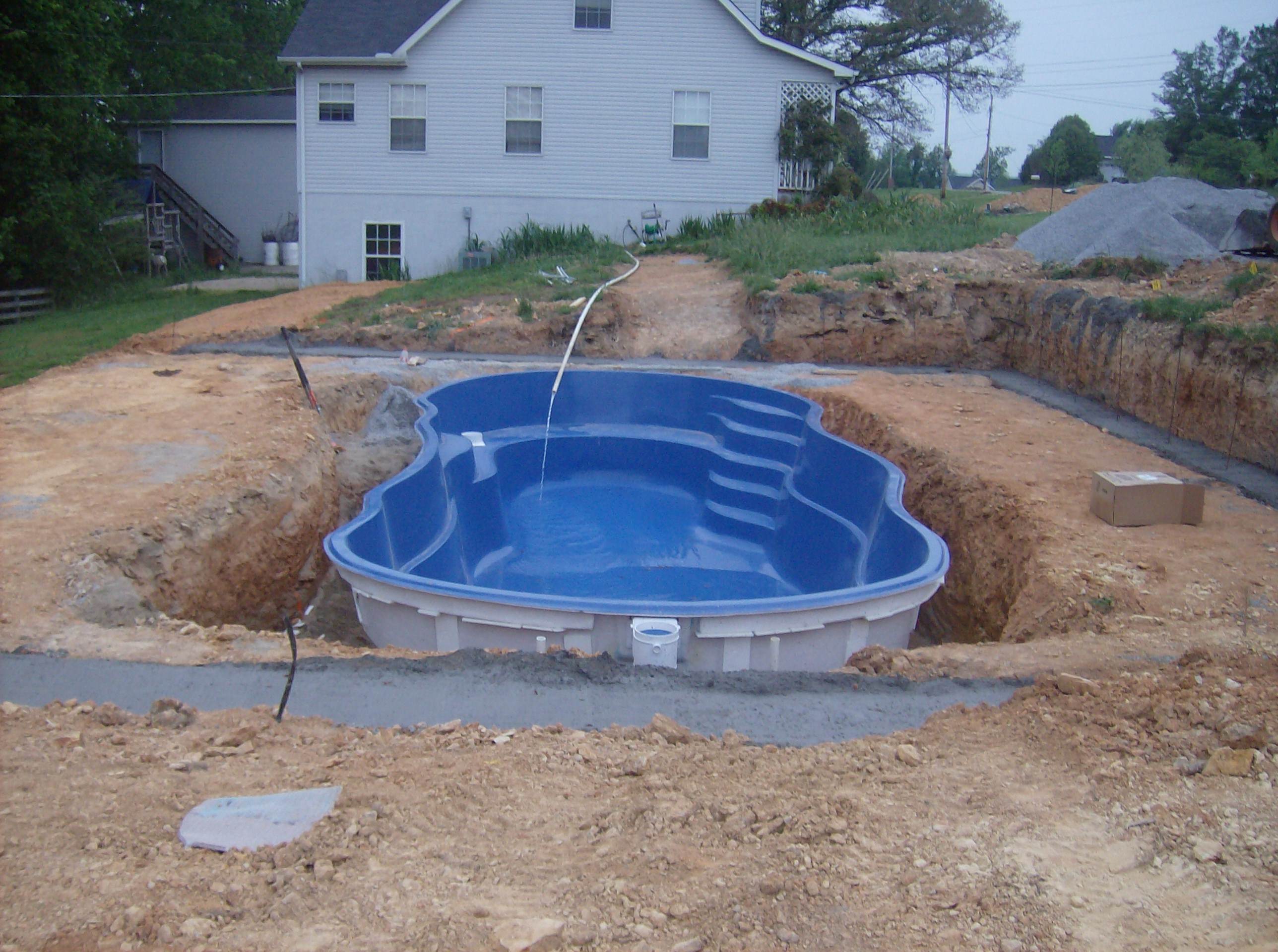 pungo creek pool and patio
